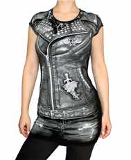 Tunika Biker Jacket All Print