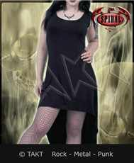 Tunika Gothic Elegance High - Low Hem - Spiral Direct