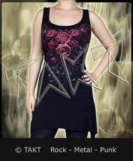 Tunika /  Mini šaty Blood Rose  - Imp.  Spiral Direct