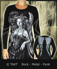 Tunika s dlouhým rukávem Angel Of Destroy All Print