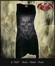 Tunika Skull Illusion Goth Bottom - Spiral Direct