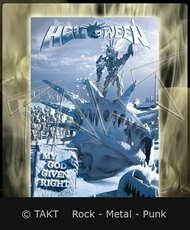 Vlajka Helloween - my God Given Right