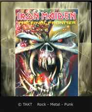 Vlajka Iron Maiden - the Final Frontier - Hfl1034