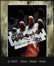 Vlajka Judas Priest - british Steel - Hfl0968