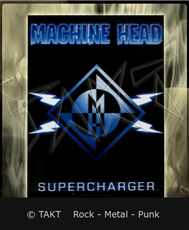 Vlajka Machine Head - supercharger - Hfl337