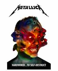 Vlajka Metallica - hardwired.  .  .  To Self - Destruct