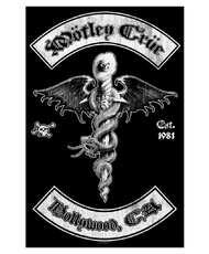Vlajka Motley Crue - Hollywood