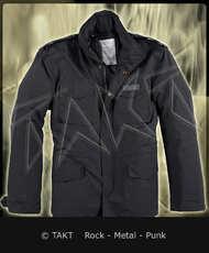 Zimní bunda M - 65 Hydro Us Fieldjacket Black/ Černá Imp.