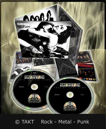 2CD+ DVD Scorpions - love At Firts Sting Digipack - 2015