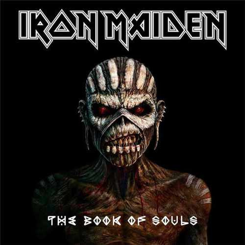 2CD Iron Maiden - the Book Of Souls - 2015