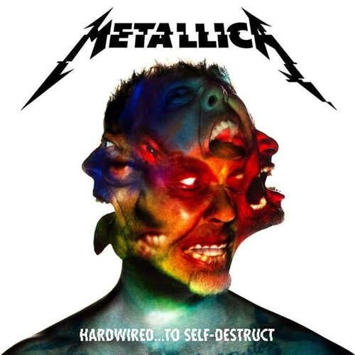 2CD Metallica - hardwired.  .  .  To Self Destruct - 2016