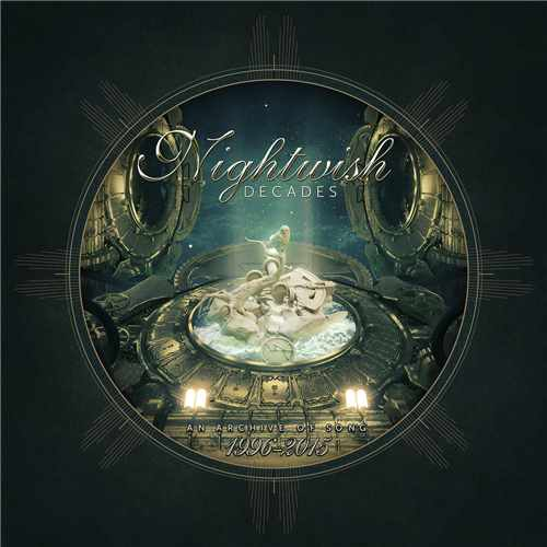 2CD Nightwish - decades.  An Archive Of Song 1996 - 2015 Digipack - 2018