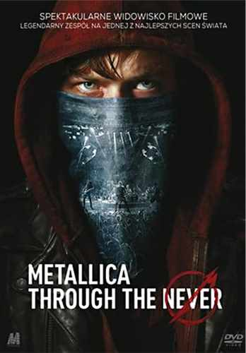 2DVD Metallica - through The Never  - 2014