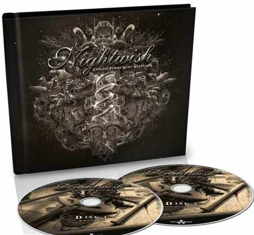 2x CD Nightwish - endless Forms Most Beautiful Digibook - 2015