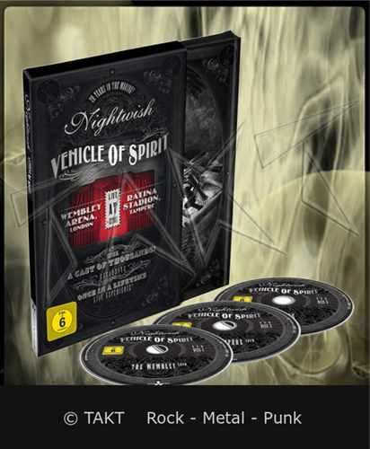 3DVD Nightwish - vehicle Of Spirit Digibook - 2016