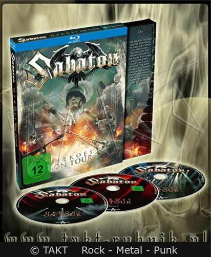 CD 2blu - Ray +  CD Sabaton - heroes On Tour Digipack - 2016