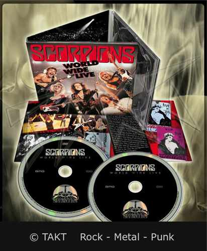 CD+ DVD Scorpions - world Wide Live Digipack - 2015