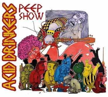 CD Acid Drinkers - peep Show Digipack - 2016