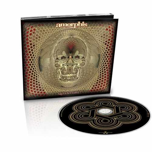 CD Amorphis - queen Of Time - 2018 Limited Edition