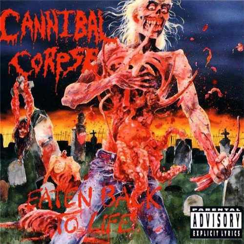 CD Cannibal Corpse - eaten Back To Life