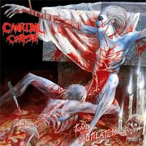 CD Cannibal Corpse - tomb Of The Mutilated