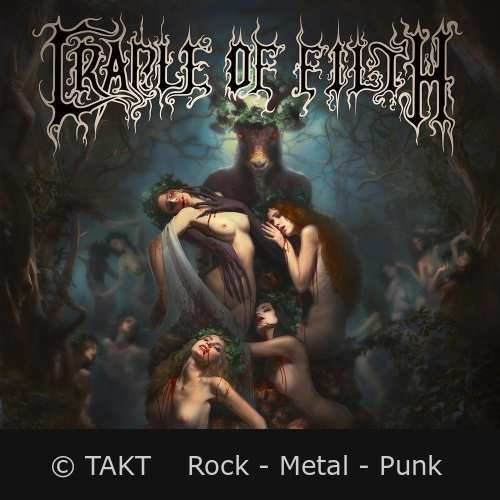 CD Cradle Of Fitlh - hammer Of The Witches - 2015