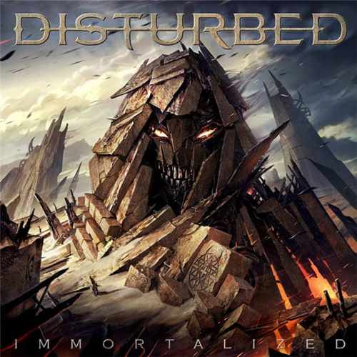 CD Disturbed - immortalized - 2015
