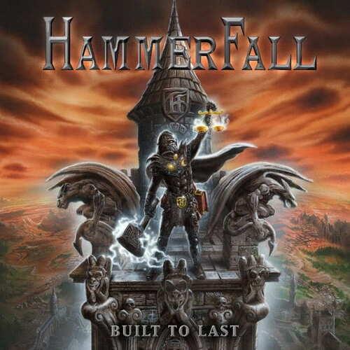 CD Hammerfall - built To Last - 2016