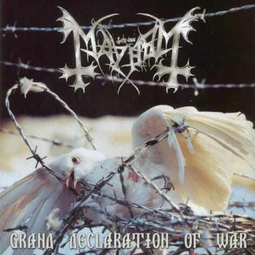 CD Mayhem - grand Declaration Of War - 2001
