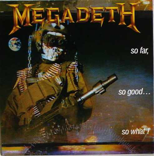 CD Megadeth - so Far ,  So Good ,  So What!