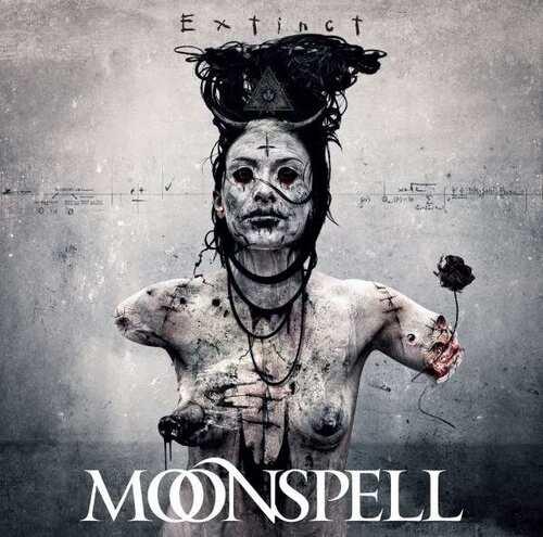 CD Moonspell - extinct - 2015