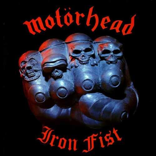 CD Motorhead - iron Fist - 1982