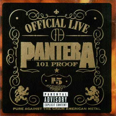 CD Pantera - official Live 101 Proof