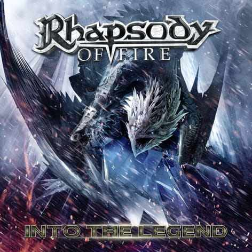 CD Rhapsody Of Fire - into The Legend - 2016