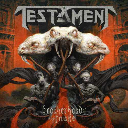 CD Testament - brotherhood Of The Snake - 2016