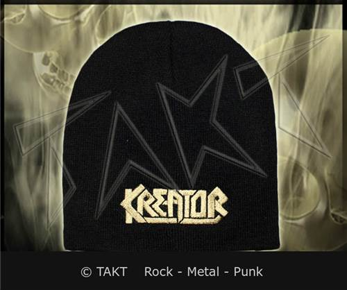 Čepice Kreator - logo Gold