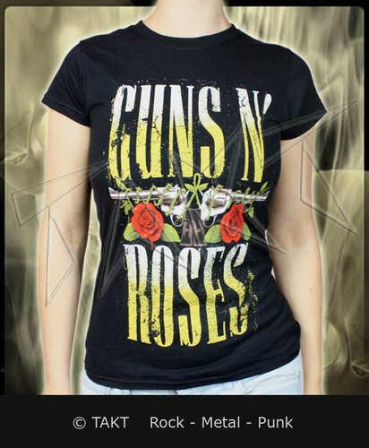 Dámské tričko Guns N Roses - big Guns Imp.