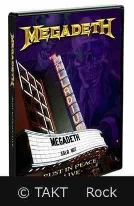 DVD+ CD Megadeth - Rust In Peace 2010