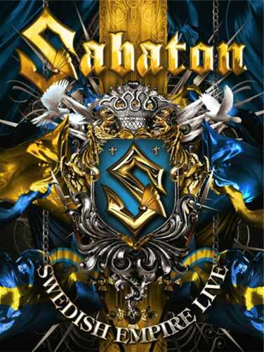DVD Sabaton - Swedish Empire Live Digipack - 2013