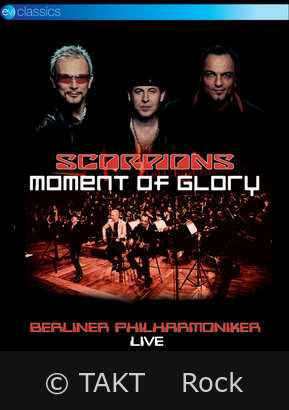 DVD Scorpions - Moment Of Glory