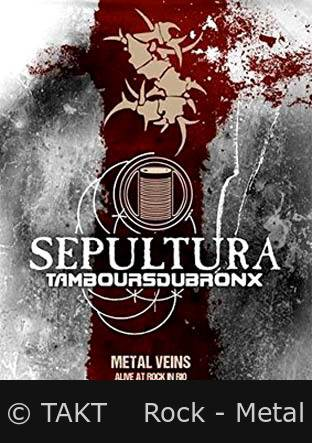 DVD Sepultura - alive Rock In Rio