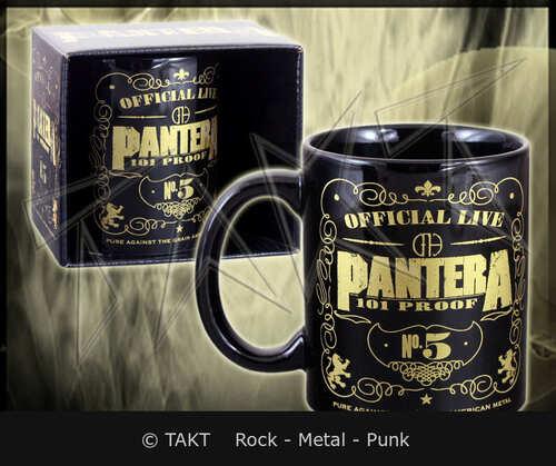 Hrnek Pantera - 101 Proof Black