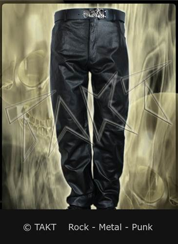Kalhoty kožené jednoduché