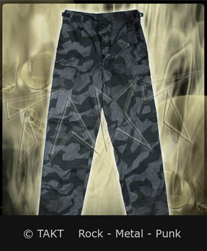 Kalhoty vojenské Us Ranger Splinternight