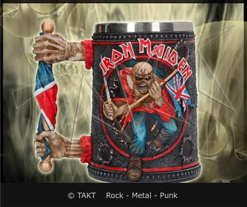 Krygl Iron Maiden - eddie