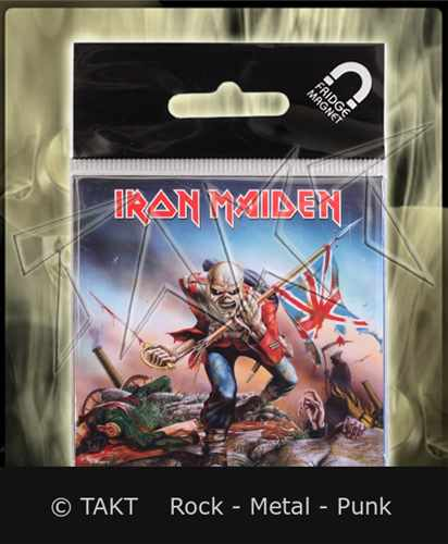 Magnet Iron Maiden - the Trooper Imp.