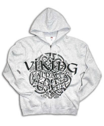 Mikina se zipem Viking 09 - valhalla Grey