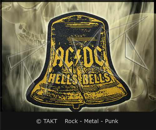 Nášivka Ac/ dc - hells Bells 2 Cut Out
