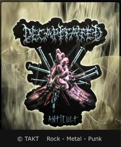 Nášivka Decapitated - anticult