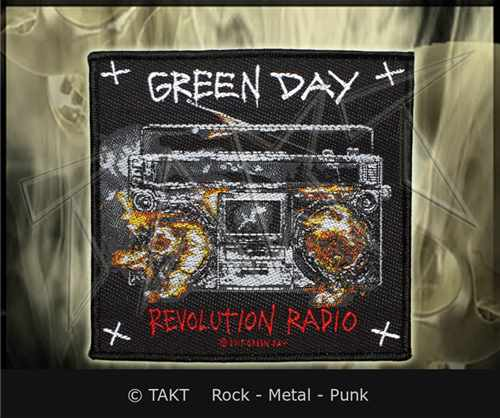 Nášivka Green Day - revolution Radio